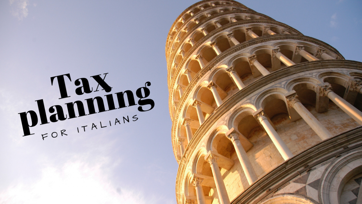 International tax planning for Italians