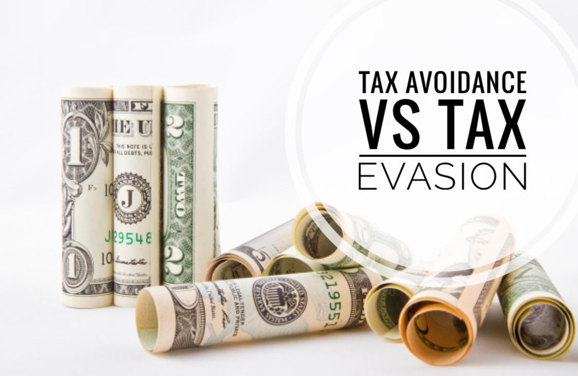 Tax avoidance VS Tax evasion